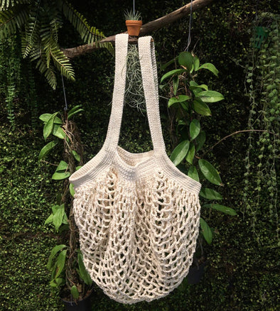 Macrame Bag Long Handle