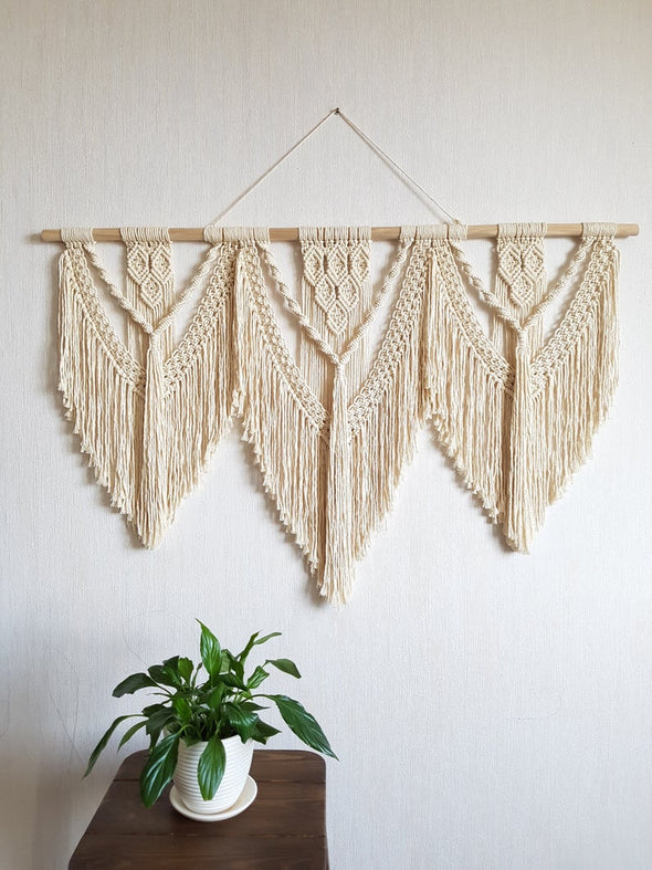 Macrame Wall Hanging Large 010