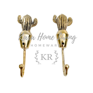BRASS HOOK DECORATIVE 28