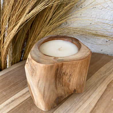 Candle Wooden Teak