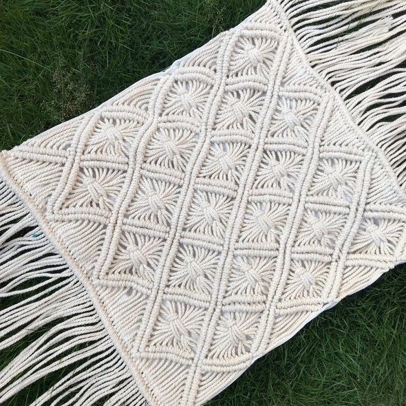 PILLOW COVER MACRAME 004
