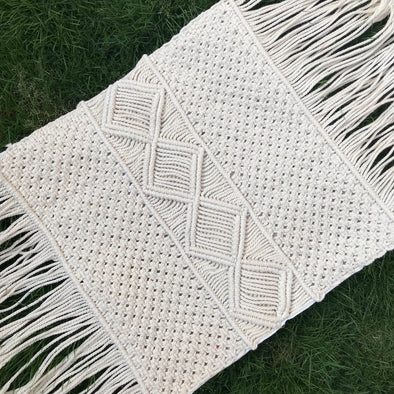 PILLOW COVER MACRAME 005