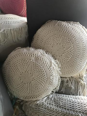 PILLOW COVER ROUND CROCHET