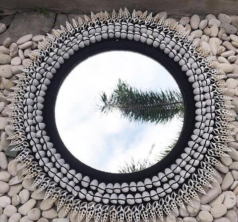 Mirror With Shell 50CM