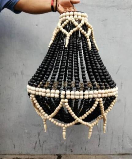 LAMPSHADE BEADED