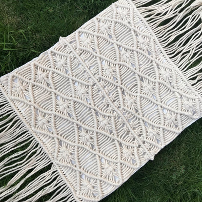 PILLOW COVER MACRAME 008