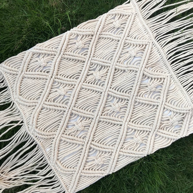 PILLOW COVER MACRAME 012
