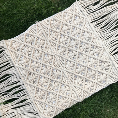 PILLOW COVER MACRAME 011
