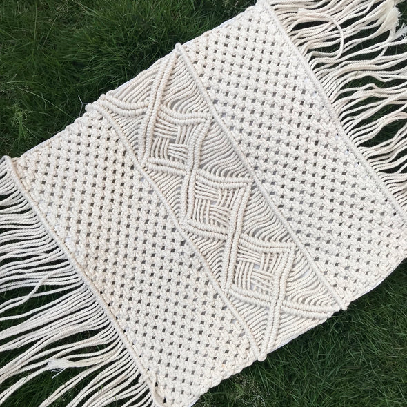 PILLOW COVER MACRAME 002