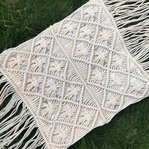 PILLOW COVER MACRAME 009