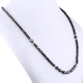9x5 mm Black Diamond Necklace Would Make a Wonderful Birthday Gift