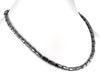 Designer Pipe Shape Fancy Black Diamond Beads Necklace - ZeeDiamonds