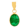 Natural Oval Shape Certified Emerald Birthstone Astrological Gemstone - ZeeDiamonds
