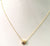 Champagne Diamond Pendant In 14kt Gold,AAA Quality Wedding Gift,Anniversary Gift