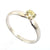 0.40 Ct Solitaire Diamond Ring in Solid Gold Wedding Ring - ZeeDiamonds