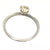 0.38 Ct Solitaire DiamondEngagement Ring in Solid Gold - ZeeDiamonds