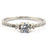 0.36 Ct Solitaire Diamond Wedding Ring in Solid Gold - ZeeDiamonds
