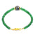 Emerald Gemstone Sterling Silver Bracelet 41 Ct Great Shine