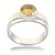 1-3 Ct AAA Certified Round Champagne Diamond Solitaire Ring - ZeeDiamonds