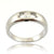 0.10 Ct Solitaire White Diamond Ring in Solid Gold - ZeeDiamonds