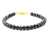 6 mm, Unisex Bracelet, 65 ct AAA Quality Black Diamond Bracelet