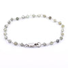 4 mm Certified Champagne Diamond Beads Bracelet - ZeeDiamonds