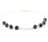 AAA Certified 5 mm Black Diamond Chain Bracelet, Latest Collection
