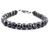 AAA Certified 8 mm Black Diamond Heavy Bracelet, Latest Collection