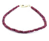 23.15 Ct Certified Cabochon Ruby Gemstone Bracelet, Gift for Birthday