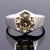 2-2.5 CT ROUND SHAPE CHAMPAGNE DIAMOND RING - ZeeDiamonds