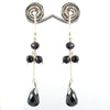 Certified Black Diamonds Dangler Earrings- Elegant Shine & Luster
