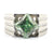 2-2.5 CT PRINCESS SHAPE CHAMPAGNE DIAMOND RING IN SILVER - ZeeDiamonds