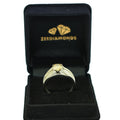 1-2 CT ROUND CUT CHAMPAGNE DIAMOND SOLITAIRE RING - ZeeDiamonds