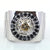 0.9 CT CHAMPAGNE DIAMOND RING WITH BLACK DIAMOND ACCENTS - ZeeDiamonds