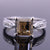 2-2.5 CT CHAMPAGNE DIAMOND RING WITH DIAMOND ACCENTS - ZeeDiamonds