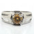 1-1.5 CT CHAMPAGNE DIAMOND SOLITAIRE RING IN 925 SILVER - ZeeDiamonds
