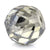 4.30 Ct Round Shape, 7x8 mm Grey Diamond Bead