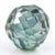 5 Ct Round Shape, 7x9 mm Blue diamond bead