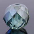 3.6 Ct Round Mixed Shape, 7x7 mm Blue Diamond Bead - ZeeDiamonds