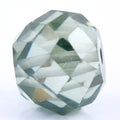 5.75 Ct Round Shape, 9 mm Blue Diamond Bead - ZeeDiamonds