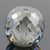 8.15 Ct Round Shape, 10 mm Grey Diamond bead