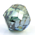 7.25 Ct Round Mixed Shape, 10 mm Blue Diamond Bead - ZeeDiamonds