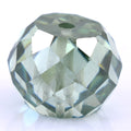 6.9 Ct Round Shape, 10 mm Blue Diamond Bead - ZeeDiamonds