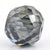 6.75 Ct Round Shape, 9 mm Grey Diamond Bead