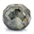 6.75 Ct Round Shape, 10 mm Grey Diamond Bead