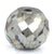7.5 Ct Round Shape, 10 mm Grey Diamond Bead
