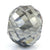 6.8 Ct Round Faceted, 10 mmGrey Diamond Bead