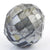 7.10 Ct Round Shape, 10 mm Grey Diamond Bead