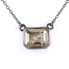 2.30 Ct AAA Certified Champagne Diamond Solitaire Pendant, Great Shine