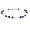 AAA Certified Black Diamond Chain Bracelet, Latest Design